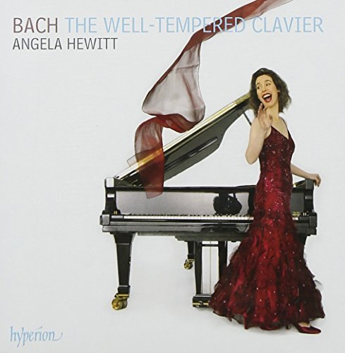 Johann Sebastian Bach Well Tempered Clavier Complete Hewitt*angela (pno) 4 CD