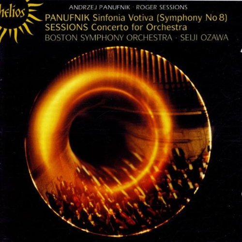 A. Panufnik Symphony No.8. Sessions. Cto F Ozawa Boston So