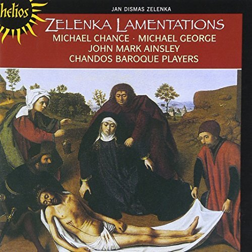 J.D. Zelenka Lamentations Of Jeremiah Chance Ainsley George