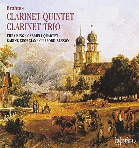 Johannes Brahms/Clarinet Quintet Trio Op. 114@King (Cl)/Benson (Pno)@Bensen/Gabrieli Str Qt