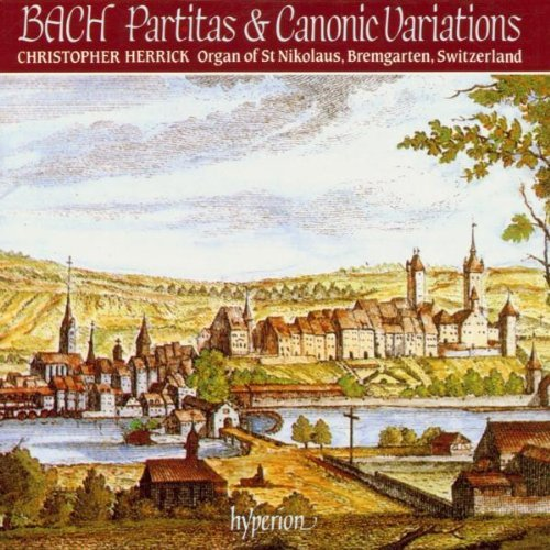 J.S. Bach Partitas & Canonic Variations. Herrick*christopher (org)