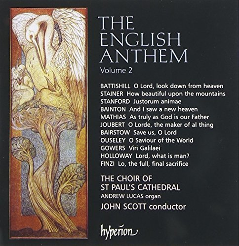 Choir Of St. Paul's Cathedral English Anthem Vol.2 Lucas*andrew (org) Scott St. Paul's Cathedral Cho