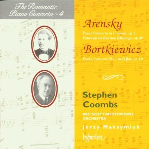Arensky Bortkiewicz Piano Concerto Coombs*stephen (pno) Maksymiuk Bbc Scottish So