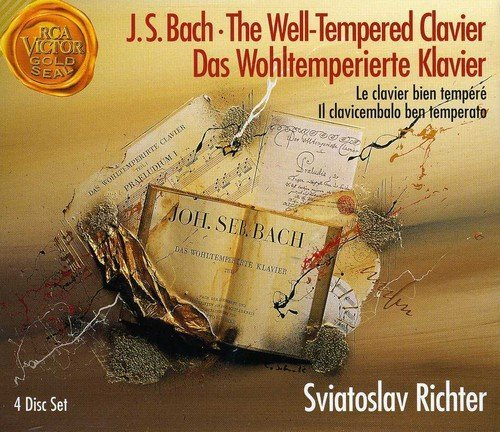 J.S. Bach Well Tempered Clavier Richter (pno)