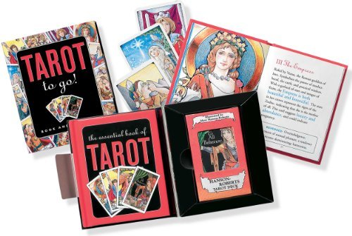Rosalind Simmons Tarot To Go Bk & Mini Deck [with Mini Deck]