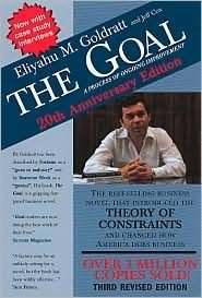 Eliyahu M. Goldratt Goal The A Process Of Ongoing Improvement 0003 Edition;anniversary