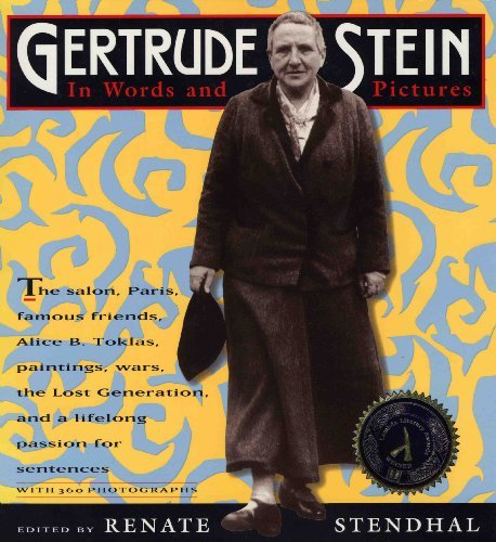 Renate Stendhal Gertrude Stein In Words And Pictures