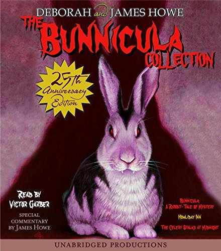 James Howe The Bunnicula Collection Books 1 3 #1 Bunnicula A Rabbit Tale Of Myster