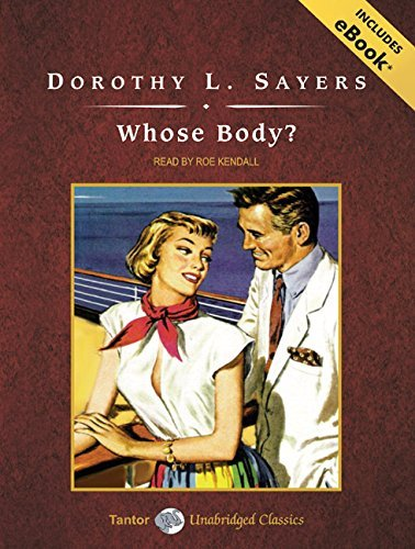 Dorothy L. Sayers Whose Body? CD