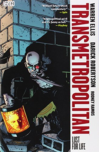 Warren Ellis Transmetropolitan Vol 2 Lust For Life