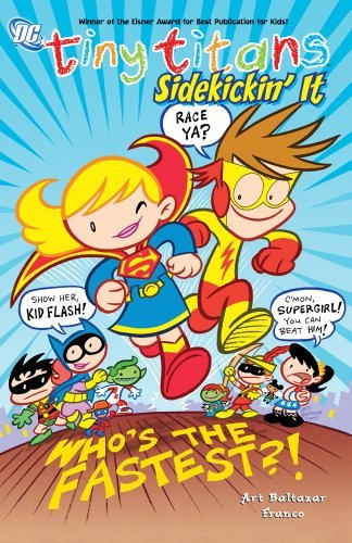 Art Baltazar Tiny Titans Sidekickin' It