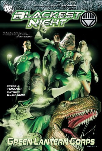 Peter J. Tomasi Green Lantern Corps Blackest Night