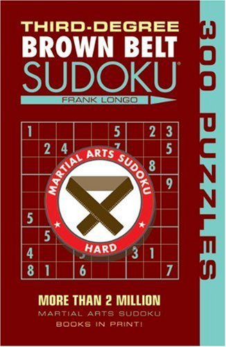 Frank Longo Third Degree Brown Belt Sudoku(r)