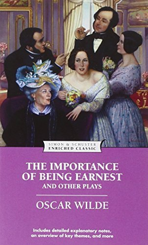 Oscar Wilde The Importance Of Being Earnest And Other Plays Enriched Classi