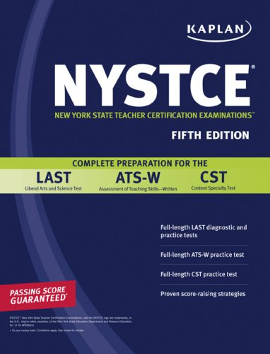 Sandra Luna Mccune Kaplan Nystce Complete Preparation For The Last Ats W & Cst 0005 Edition;