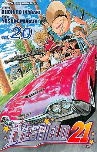 Riichiro Inagaki Eyeshield 21 Volume 20