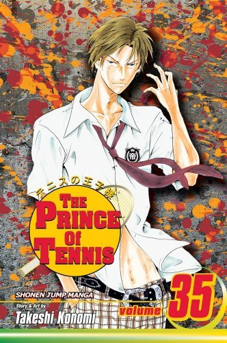 Takeshi Konomi The Prince Of Tennis Volume 35