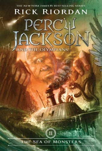 Rick Riordan Percy Jackson And The Olympians Book Two The Sea
