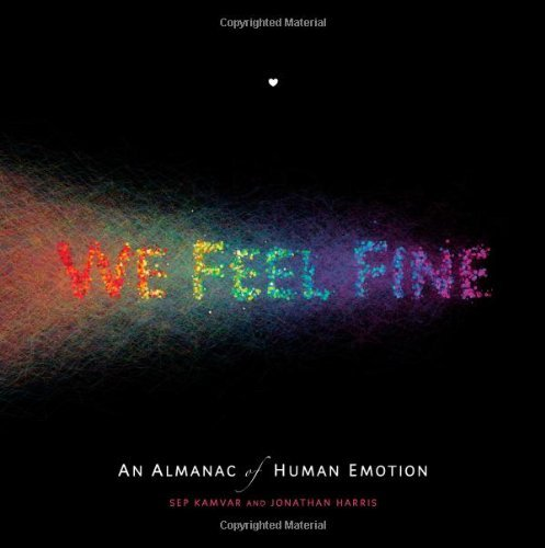 Jonathan Harris We Feel Fine An Almanac Of Human Emotion