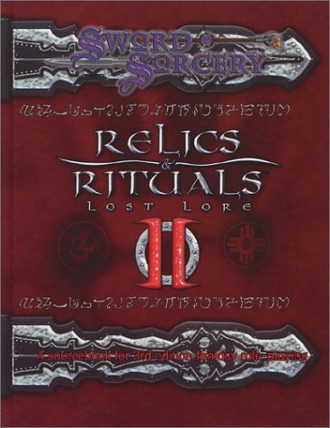 Sword And Sorcery Studio Relics & Rituals Ii Lost Lore