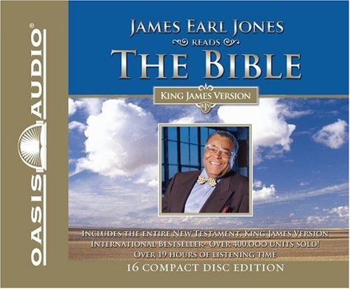 James Earl Jones James Earl Jones Reads The Bible Kjv New Testament
