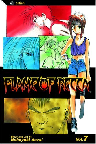 Nobuyuki Anzai Flame Of Recca Volume 7