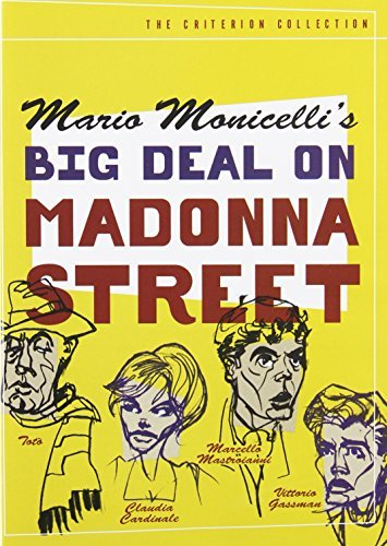 Big Deal On Madonna Street Big Deal On Madonna Street Nr Criterion