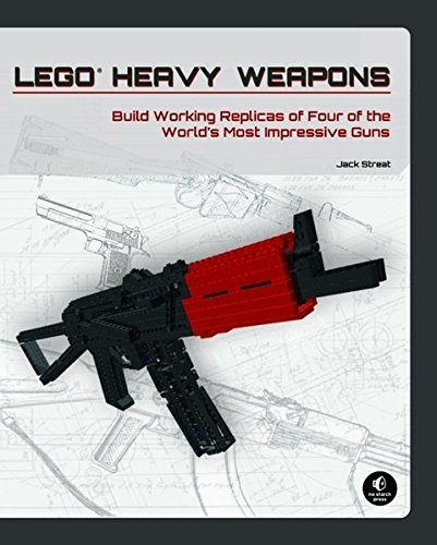 Jack Streat Lego Heavy Weapons Build Working Replicas Of Four Of The World's Mos