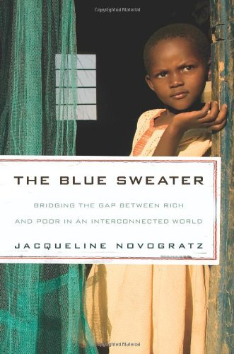 Jacqueline Novogratz Blue Sweater The Bridging The Gap Between Rich And Poor In An Inte