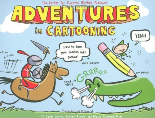 James Sturm Adventures In Cartooning