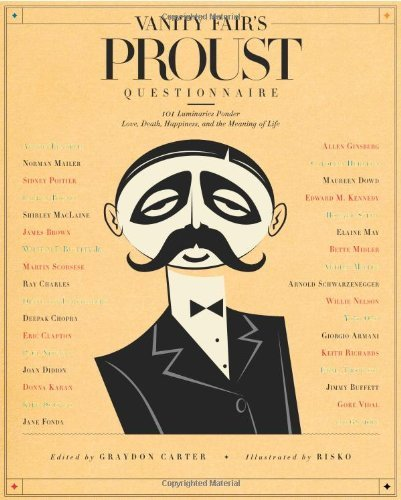 Graydon Carter Vanity Fair's Proust Questionnaire 101 Luminaries Ponder Love Death Happiness And