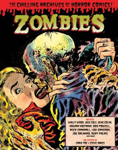 Jack Cole Zombies (the Chilling Archives Of Horror Comics!)