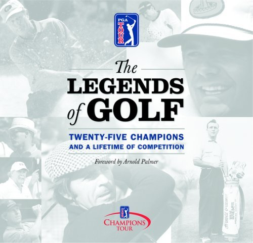 Arnold Palmer Melanie Hauser Mike Purkey The Legends Of Golf Twenty Five Years Of The Cham