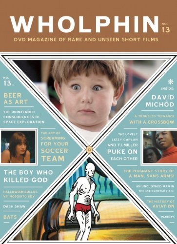 Mcsweeney's Wholphin No. 13 DVD Magazine Of Rare And Unseen Short Films [with