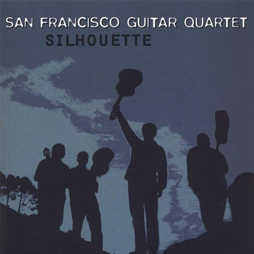 San Francisco Guitar Quartet Silhouette