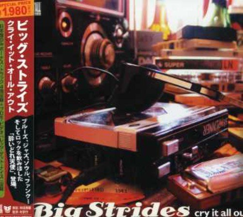 Big Strides Cry It All Out Import Jpn Incl. Bonus Tracks CD Extra