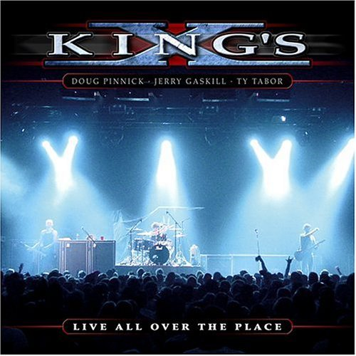 King's X Live All Over The Place 2 CD Set