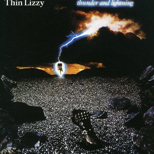 Thin Lizzy Thunder & Lightning Import