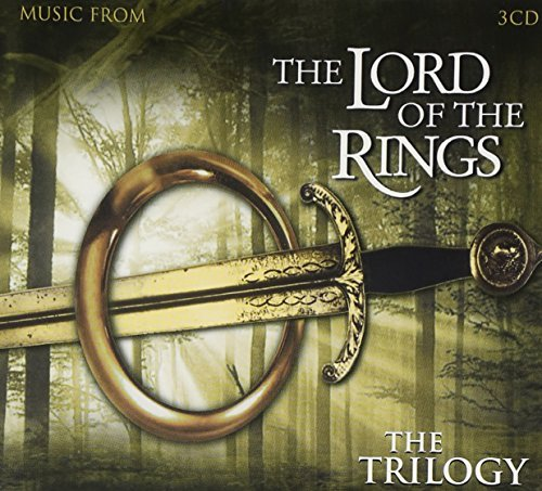 Lord Of The Rings Trilogy Soundtrack Import Eu 3 CD Set