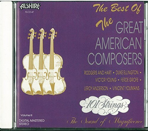 One Hundred One Strings Vol. 3 Great American Composer