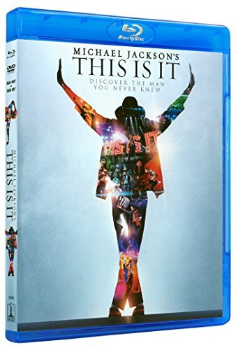 Michael Jackson's This Is It Jackson Michael Blu Ray DVD Combo