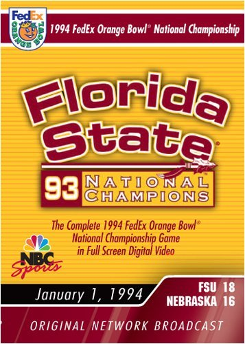 1994 Orange Bowl Florida State 1994 Orange Bowl Florida State Nr
