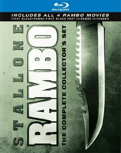 Rambo Complete Collection Stallone Sylvester Blu Ray Ws R 4 Br