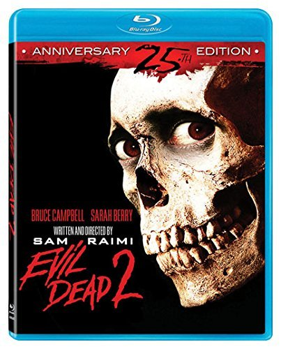 Evil Dead 2 25th Anniversary E Campbell Berry Hicks Blu Ray Ws 25th Anniv. Ed. R