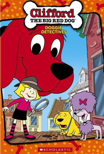 Doggie Detectives Clifford The Big Red Dog Clr Chnr Stickers