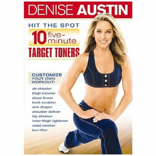 Denise Austin Hit The Spot 10 Five Minute Ta Nr