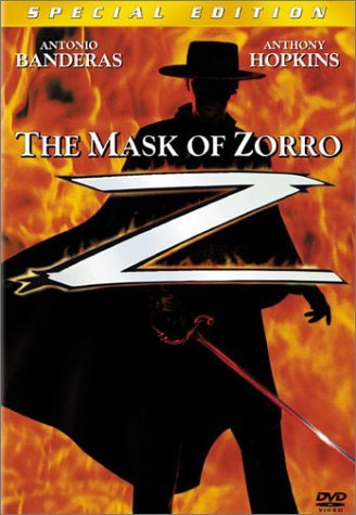 Mask Of Zorro Banderas Hopkins Zeta Jones Clr Cc 5.1 Ws Mult Dub Sub Pg13 Spec. Ed.