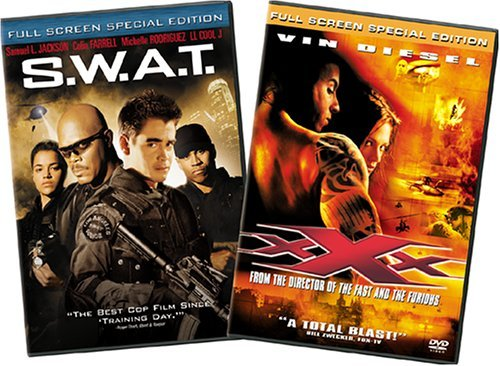 S.W.A.T. Xxx Columbia 2 Pak Clr Nr 2 DVD Side By
