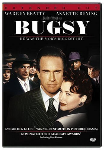 Bugsy Beatty Bening DVD R Extended Cut
