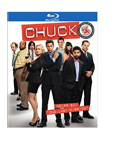 Chuck Season 5 Final Season Blu Ray Nr 4 Br